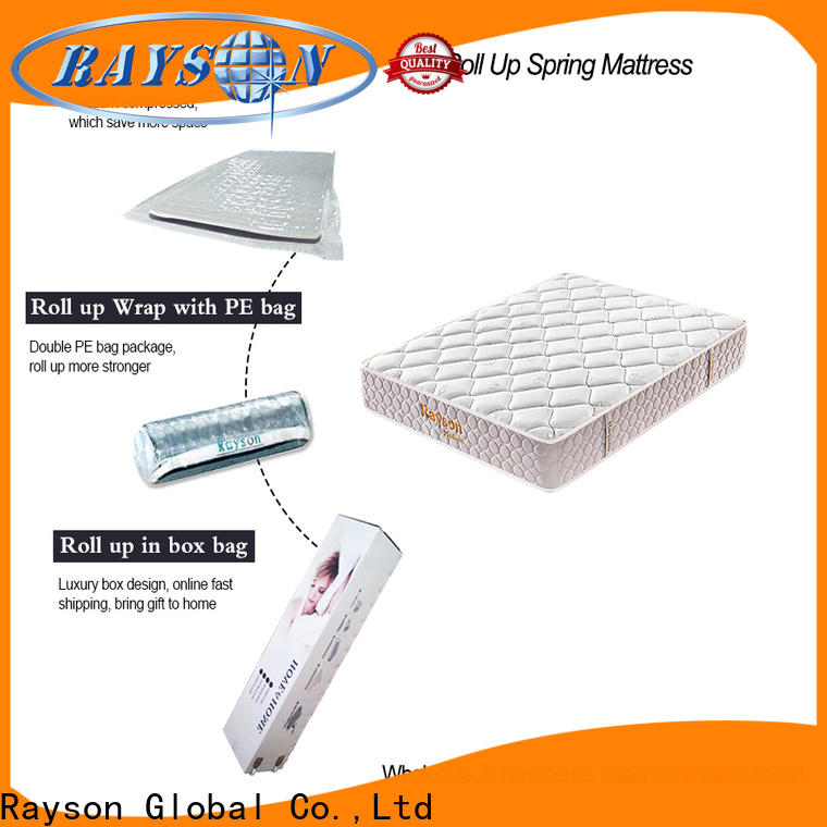 Rayson full size rolled memory foam mattress vacuum compressed at discount