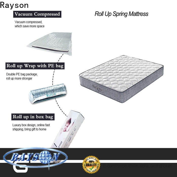 coil box roll up bed mattress rolled tight at discount