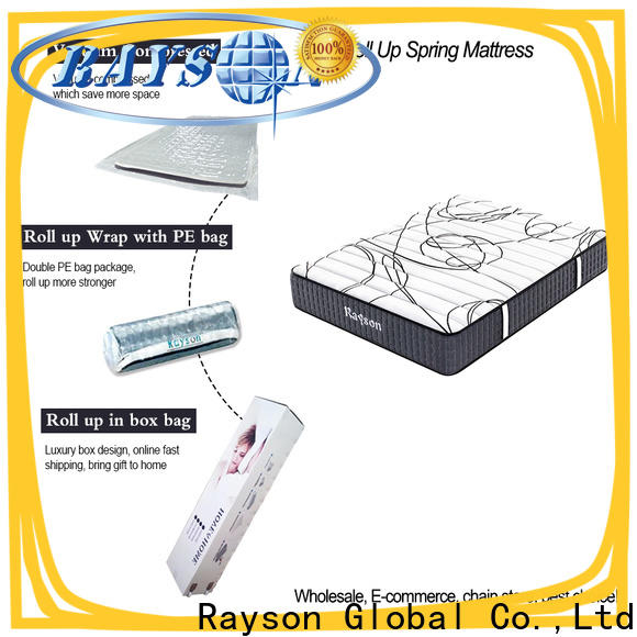 Rayson customized mattress rolled up in a box tight for sale
