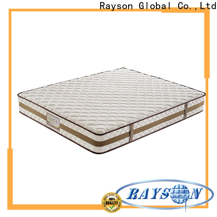 Rayson chic design pocket memory mattress knitted fabric at discount