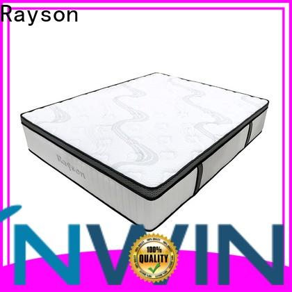 Rayson luxury cheap pocket sprung mattress low-price high density
