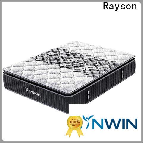 Rayson high-quality best pocket sprung mattress low-price high density
