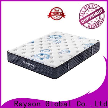 Rayson high-end luxury memory foam mattress free design