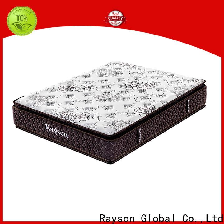 Rayson customized king size pocket sprung mattress knitted fabric light-weight