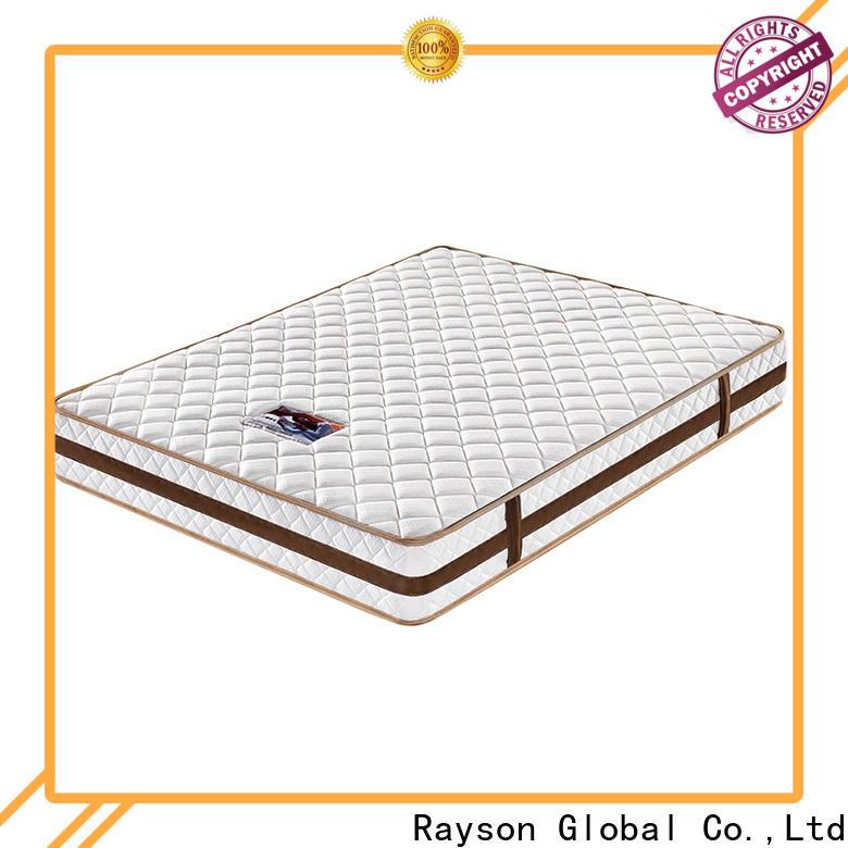 Rayson tight top pocket memory mattress wholesale light-weight