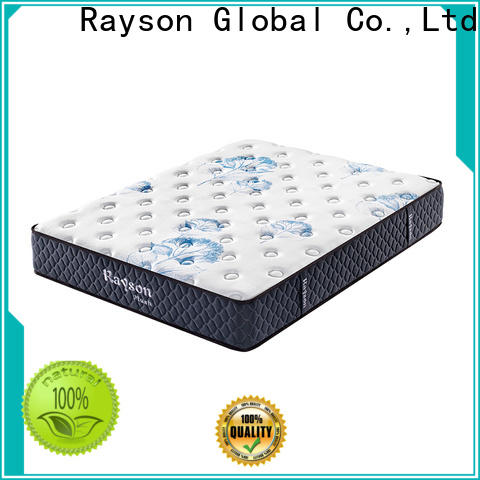 Rayson customized pocket sprung mattress king wholesale at discount