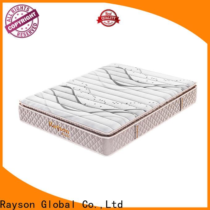 Rayson king size single pocket sprung mattress low-price high density
