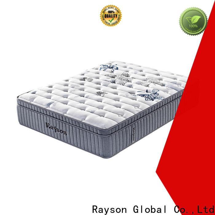 Rayson available pocket memory mattress wholesale high density