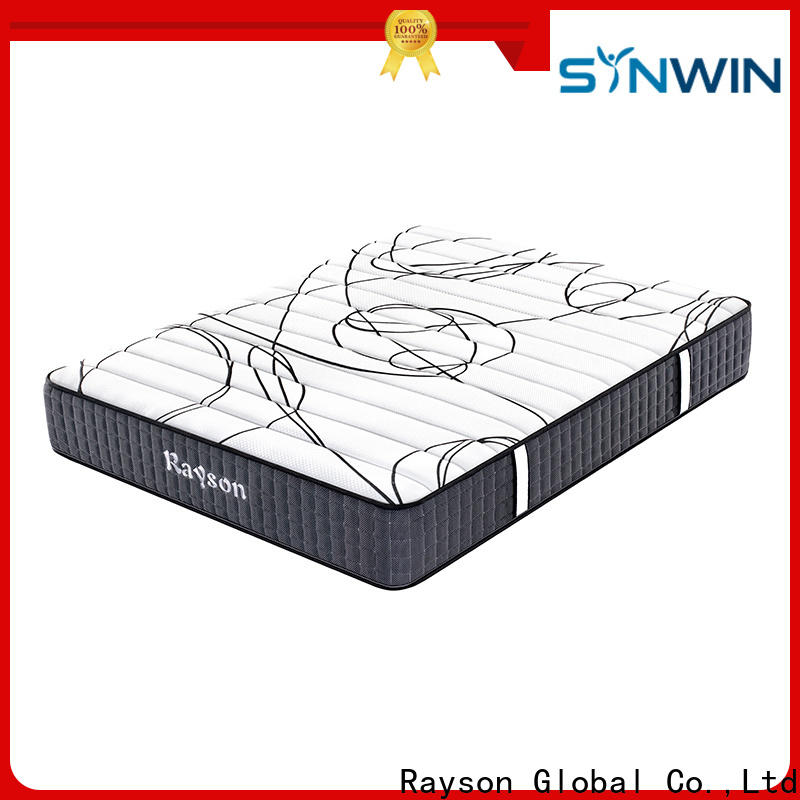 Rayson customized pocket mattress low-price high density