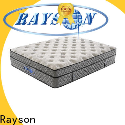 Rayson bedroom bonnell sprung mattress factory price for star hotel