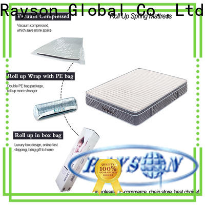 Synwin coil box rolled foam mattress top manufacturing