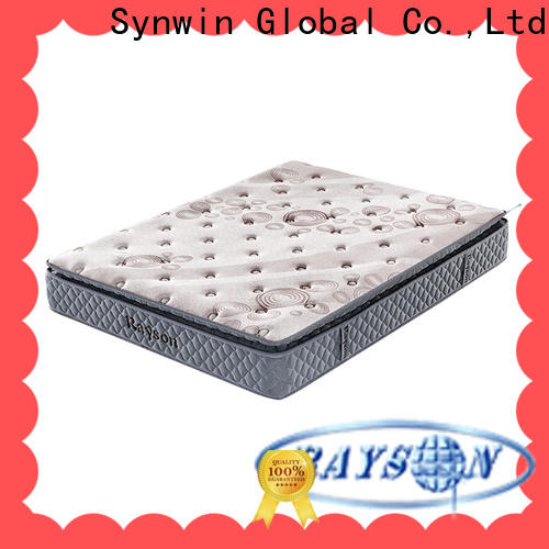 Synwin top brand spring mattress for baby factory price with coil