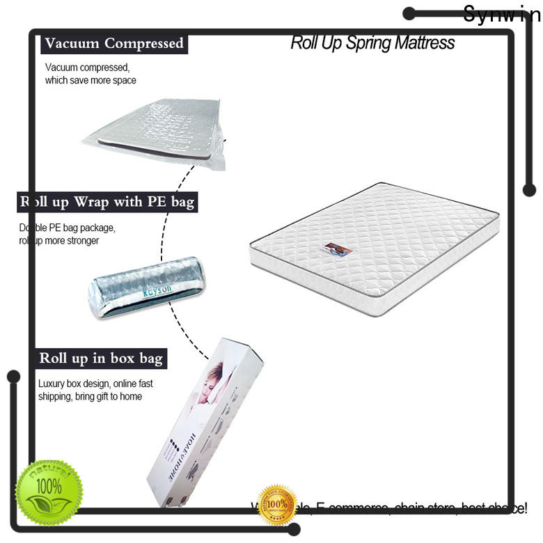 Synwin rollable mattress wholesale supported