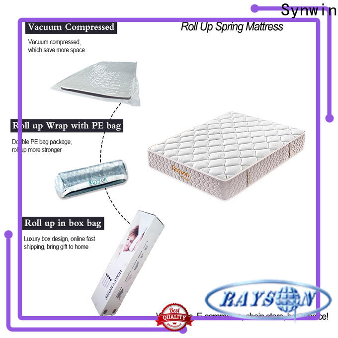 Synwin vacuum packed memory foam mattress vacuum compressed for wholesale