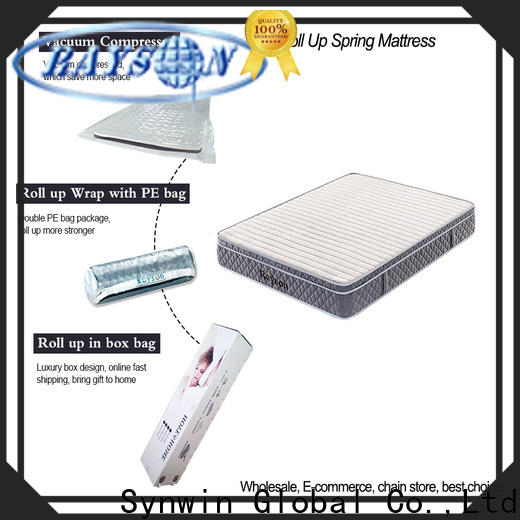 Synwin two sides rolled memory foam mattress hot