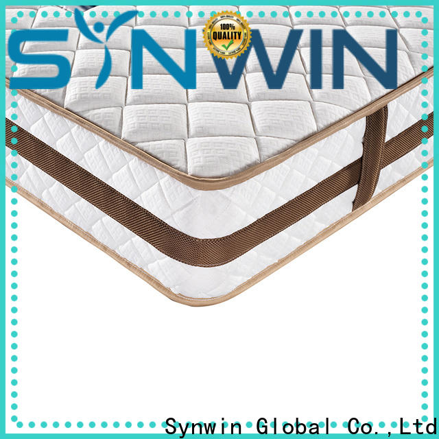Synwin chic design hotel king size mattress oem & odm for sound sleep