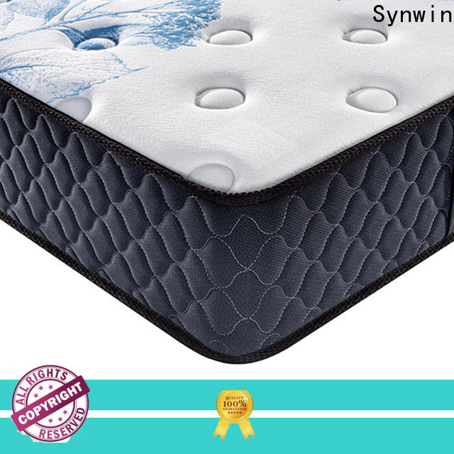 Synwin best mattresses for hotels competitive factory price for sound sleep