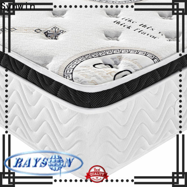 Synwin quality mattress brands oem & odm manufacturing