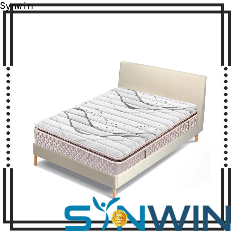 Synwin full size roll up mattress quality assured oem & odm