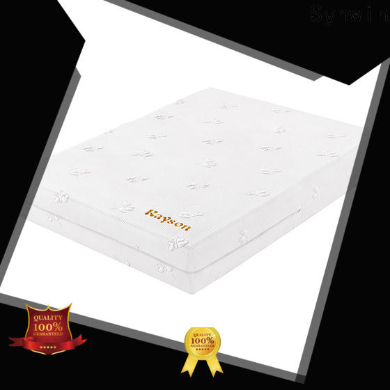 knitted fabric full memory foam mattress free delivery for sound sleep