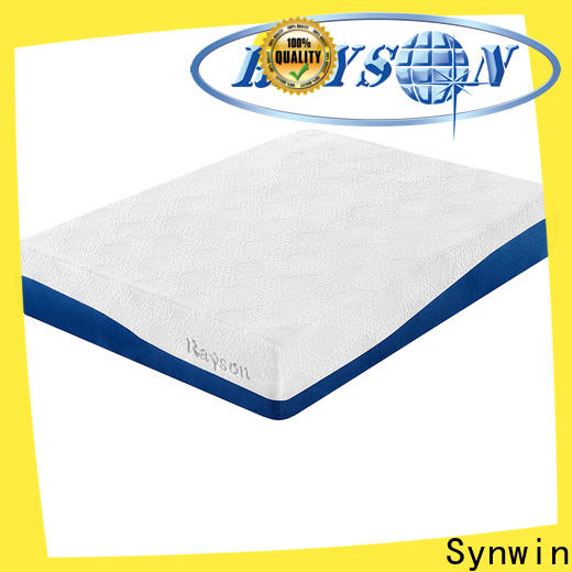 Synwin knitted fabric latex foam mattress manufacturing process free delivery for sound sleep