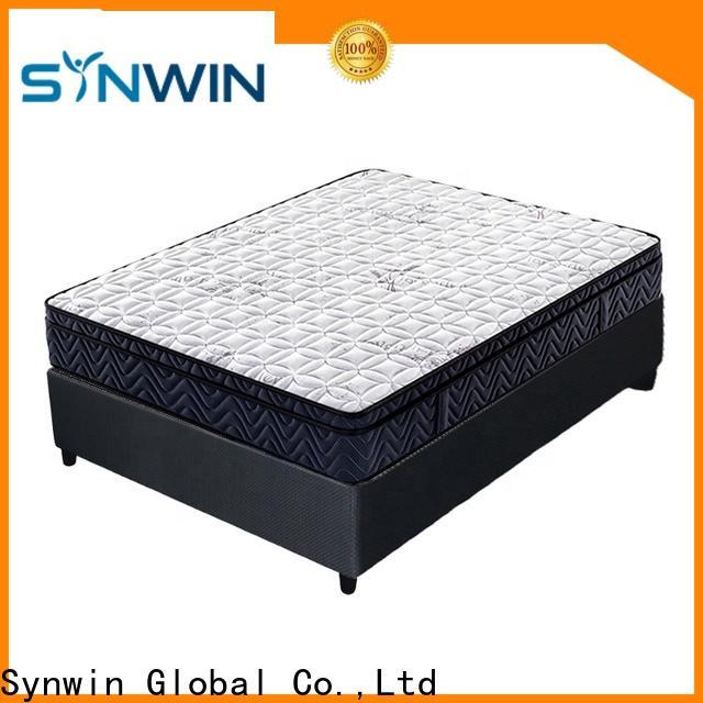 Synwin hotel bonnell spring mattress with memory foam oem & odm bulk supplies
