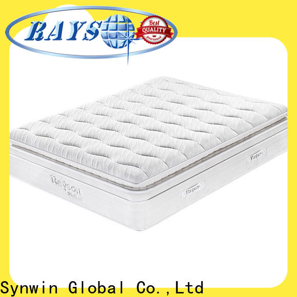 gel memory foam hotel quality mattress high-end for customization