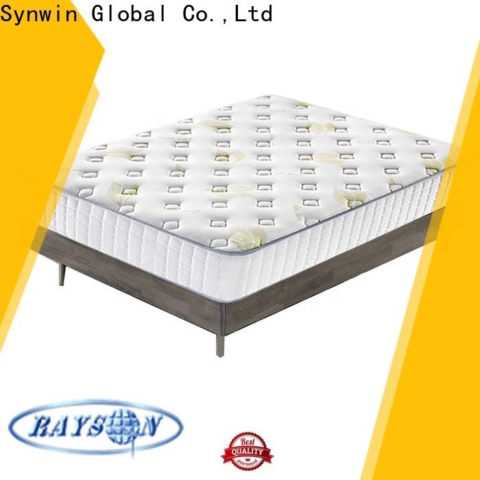 Synwin oem & odm dual spring memory foam mattress us standard for hotel