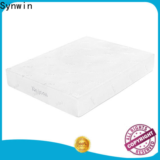 Synwin knitted fabric factory direct mattress and furniture free delivery for bed