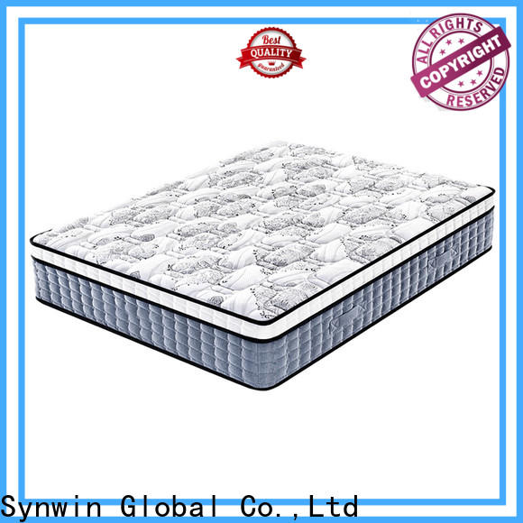 Synwin hotel bed mattress manufacturing process comfortable for sound sleep