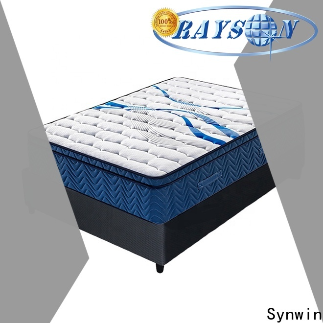 Synwin oem & odm spring mattress manufacturing company supplier for hotel
