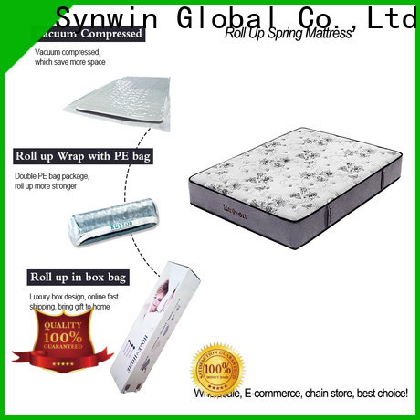 Synwin rolled mattress in a box vacuum compressed manufacturing