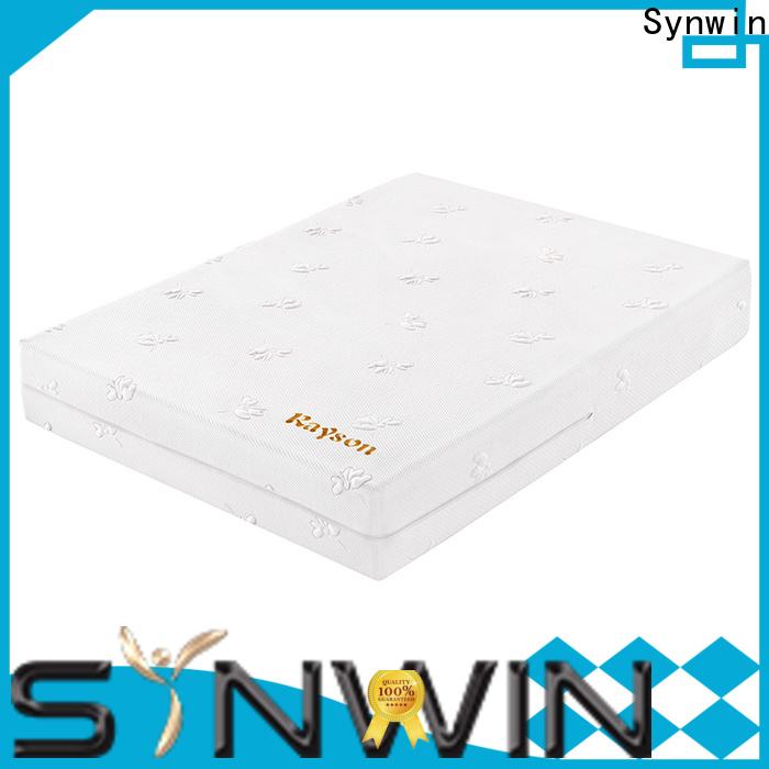 Synwin custom foam mattress manufacturers free design