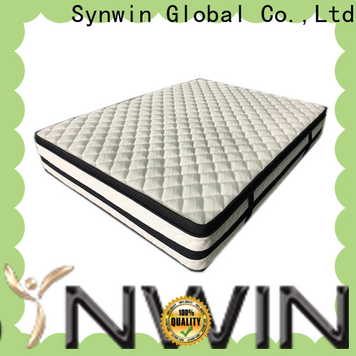 customized full size innerspring mattress knitted fabric high density