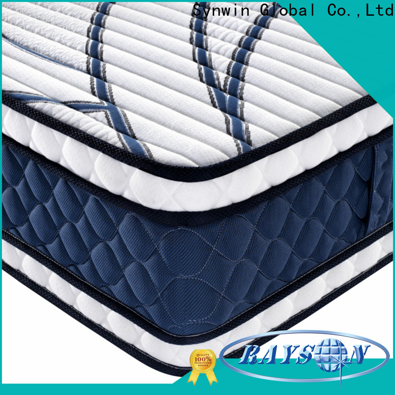 Synwin popular best mattresses for hotels oem & odm manufacturing