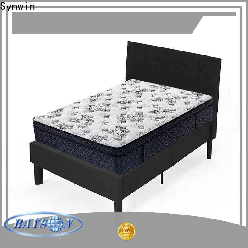 Synwin 5 star hotel bed mattress customization manufacturing