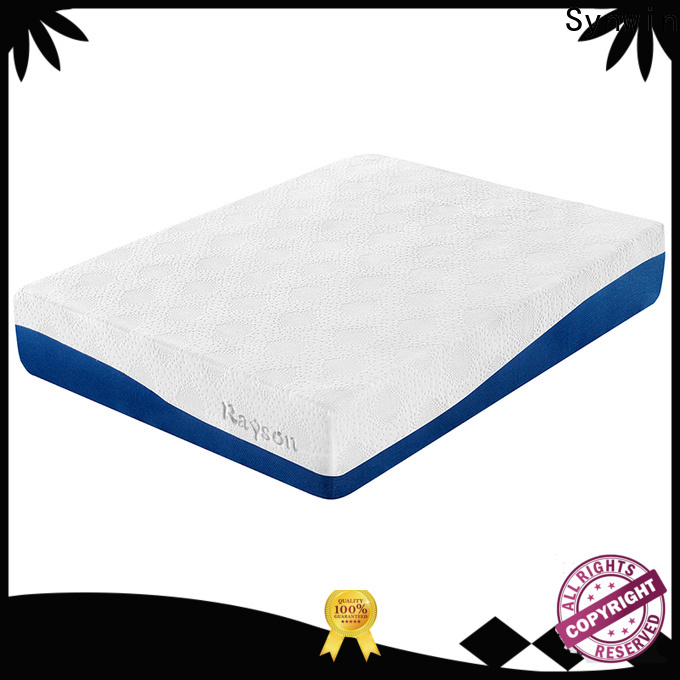 Synwin quilted bonnell and memory foam mattress free design for bed