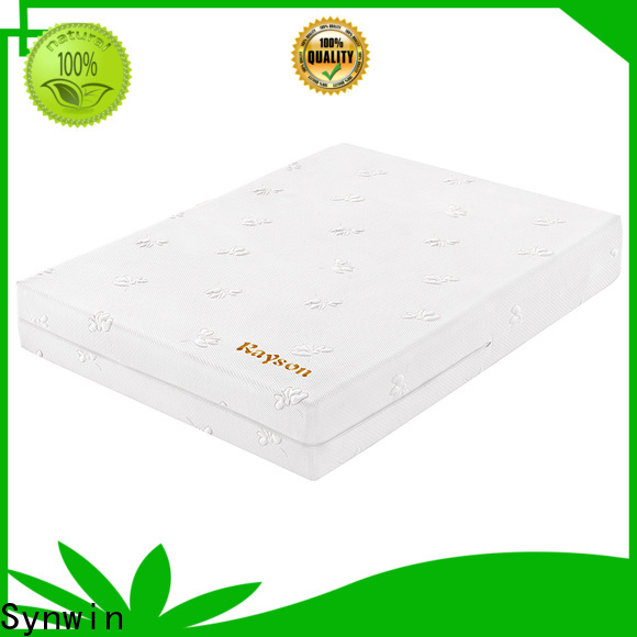 Synwin knitted fabric foam mattress manufacturing company list bulk order with pocket spring