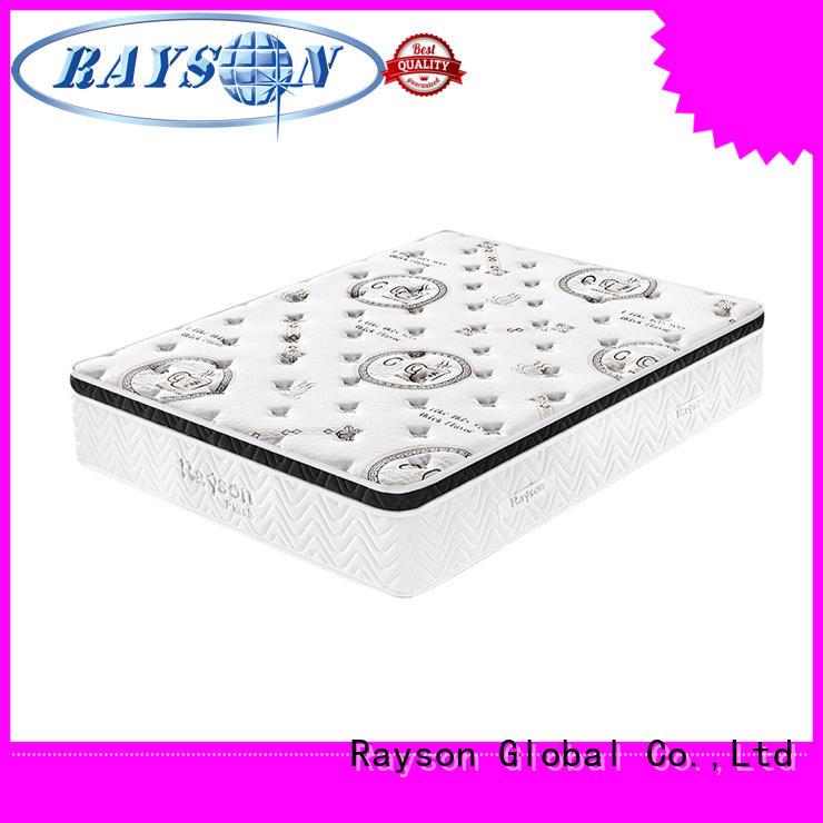 Rayson Brand euro hotel type mattress firm factory