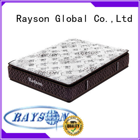 Rayson high-quality best pocket coil mattress knitted fabric light-weight