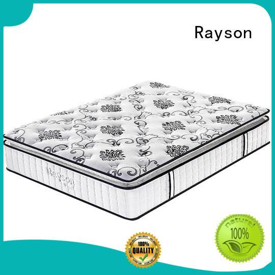 Pillow top 31cm Dubai hotel queen pocket spring mattress