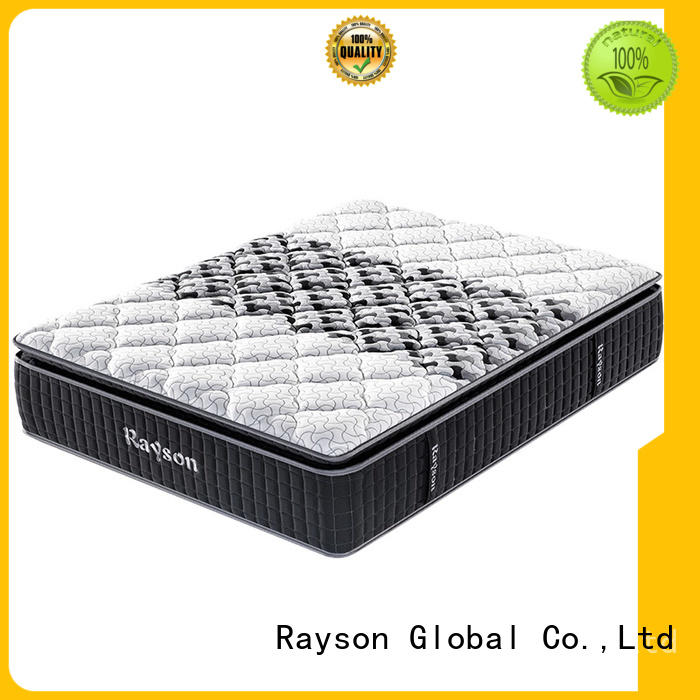 Rayson chic design best pocket sprung mattress knitted fabric high density