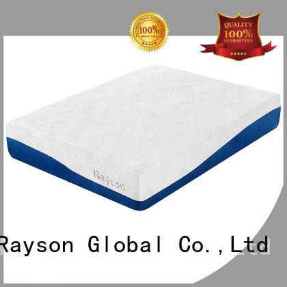 box foam roll gel memory foam mattress Rayson Brand company
