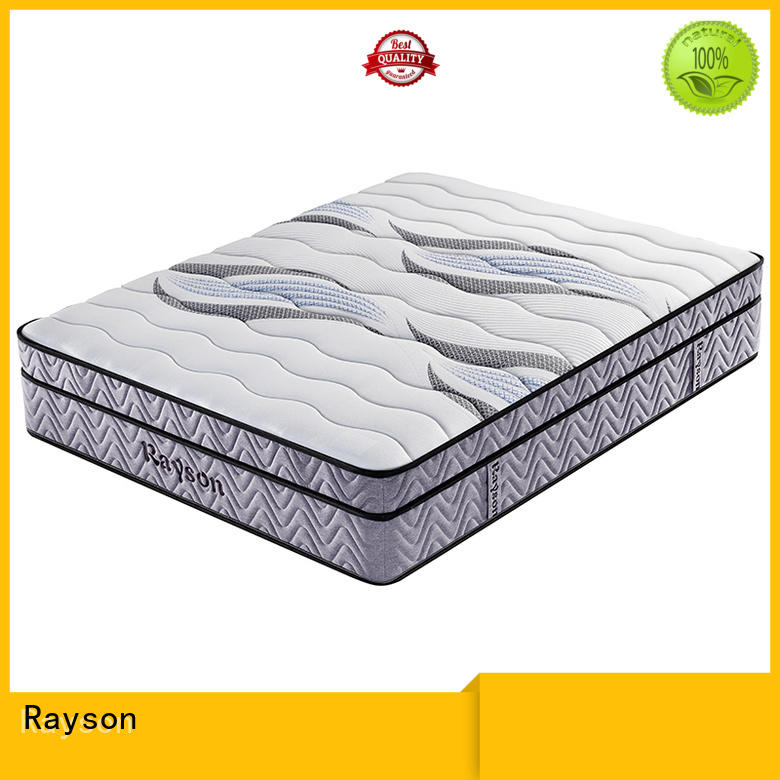 Rayson Brand koil mattress inch 5 star hotel mattress manufacture