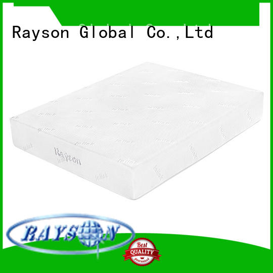 box 25cm gel OEM gel memory foam mattress Rayson