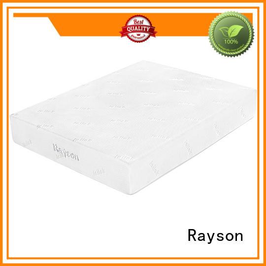 memory foam mattress double bed gel pu Rayson Brand gel memory foam mattress