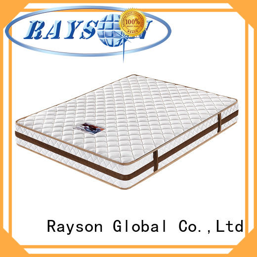 side pain two pocket sprung memory foam mattress Rayson manufacture