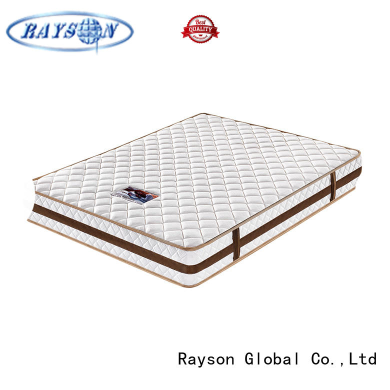 high-quality pocket sprung memory foam mattress king size low-price light-weight Rayson