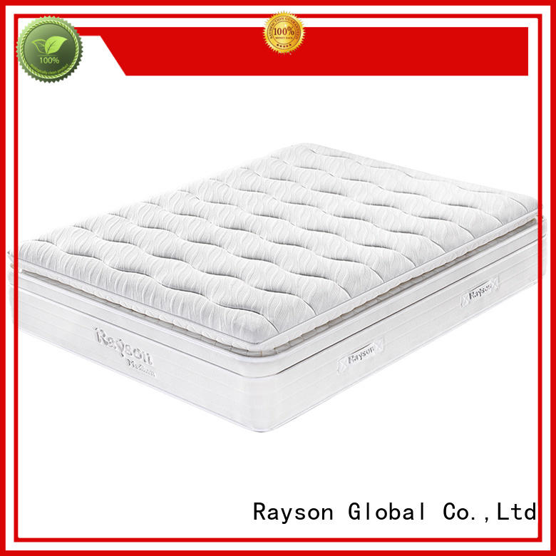 back 30cm top rated hotel mattresses luxury gel Rayson Brand