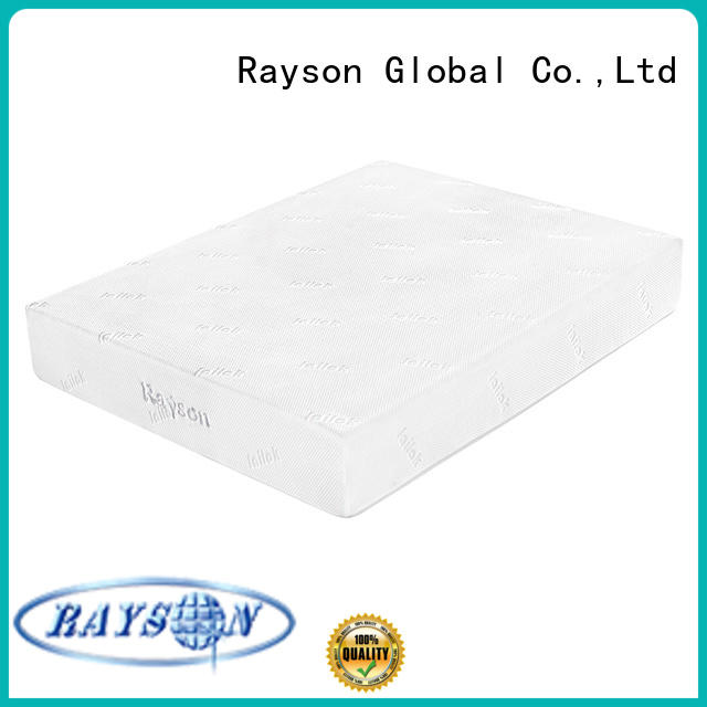 Rayson Brand pu bed custom memory foam mattress double